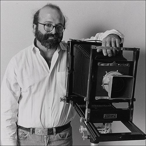 Jak Tanenbaum with his 8x10 Seneca View Camera