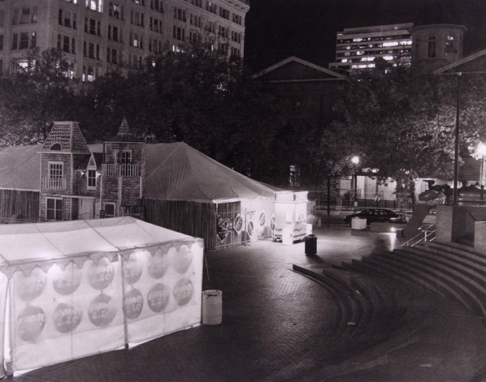 Pioneer Courthouse Square - Halloween