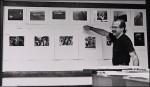 Class critique at the Academy of Art University, San Francisco, 1985