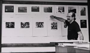 Class critique at the Academy of Art University, San Francisco, 1985