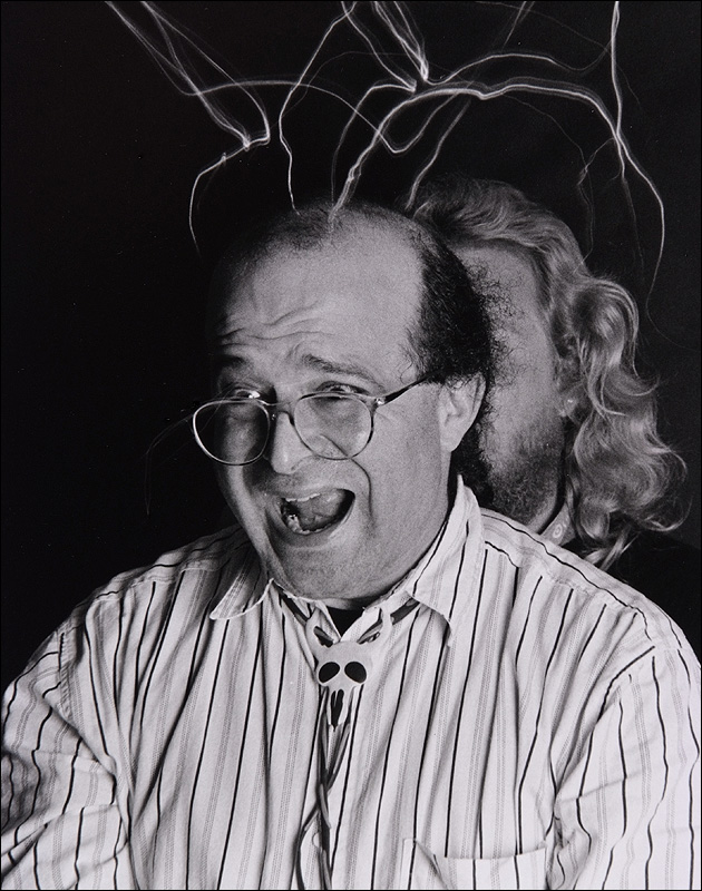 Light Painting Demonstration, Academy of Art University 1982